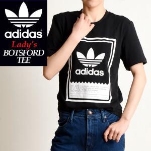 2019春夏新作 adidas Originals アディダス オリジナル ボツフォード 半袖 Tシャツ BOTSFORD TEE レディース ブラック DU8342 geostyle