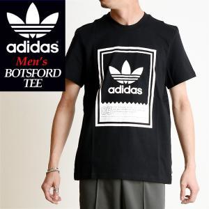 2019春夏新作 adidas Originals アディダス オリジナル ボツフォード 半袖 Tシャツ BOTSFORD TEE メンズ ブラック DU8342|geostyle