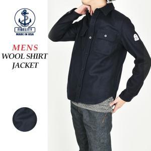 FIDELITY フィデリティ フェデリティ 24oz CPO ウールシャツジャケット メンズ FD16FTWM105|geostyle