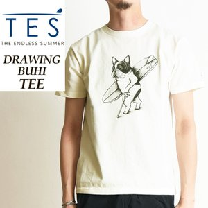 TES-The Endless Summer テス エンドレスサマー DRAWING BUHI 手描きブヒ 半袖Tシャツ メンズ FH-9574306|geostyle