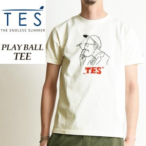 TES-The Endless Summer テス エンドレスサマー PLAYBALL プレイボール 半袖Tシャツ メンズ FH-9574321|geostyle