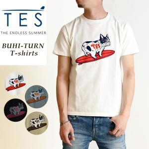 TES-The Endless Summer テス ブヒ ターン 半袖 Tシャツ メンズ 白T FH-9574334|geostyle