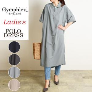 ジムフレックス Gymphlex ラグビーシャツ ワンピース ロング レディース 半袖シャツ ジムフレ #J-1337|geostyle