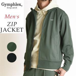 2019春夏新作 ジムフレックス Gymphlex 立衿 ジップジャケット メンズ ジャージ ブルゾン サイドライン J-1344|geostyle
