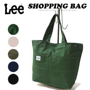 ラッピング無料 リー Lee キャンバス ショッピングバッグ レディース トートバッグ レジバッグ エコバッグ 布 大きめ 鞄 かばん LA0310|geostyle