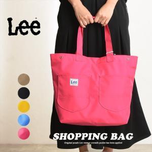 ラッピング無料 リー Lee ナイロン ショッピングバッグ レディース ねぎバッグ トートバッグ 大きめ レジバッグ エコバッグ 鞄 かばん LA0310|geostyle