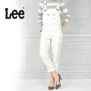 Lee リー HERITAGE LITE テーパードオーバーオール/サロペット(ホワイトデニム)LL1154-2 geostyle