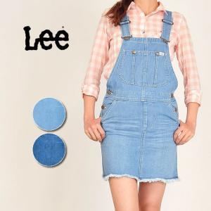 リー Lee オーバーオールスカート LL5906 レディース サロペットスカート geostyle