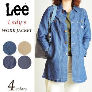 Lee リー ワーク コート レディース ジャケット デニム LT0980|geostyle