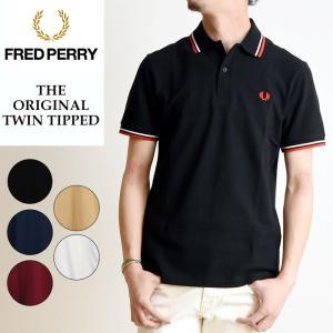 2019春夏新作 FRED PERRY フレッドペリー ツインティップ ポロシャツ 半袖 メンズ 鹿の子 白 M12N|geostyle