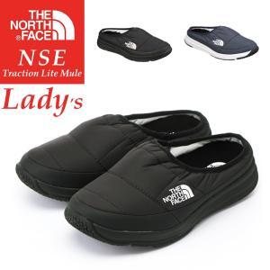 THE NORTH FACE ノースフェイス ヌプシ トラクション ライトミュール レディースサイズ スノーシューズ スニーカー スリッポン NF51887-1|geostyle