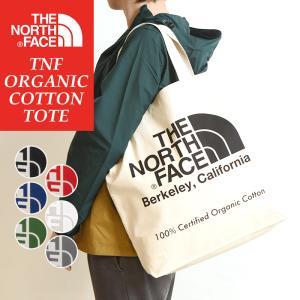 THE NORTH FACE ノースフェイス オーガニックコットン トートバッグ NM81616 レディース メンズ 大きめ 布 アウトドア 鞄|geostyle
