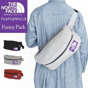 THE NORTH FACE PURPLE LABEL ノースフェイスパープルレーベル) NN7509N ファニーパック FUNNY PACK ボディーバッグ ウエストバッグ