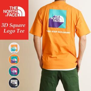 送料無料(ゆうパケット) 2020春夏新作 ノースフェイス THE NORTH FACE ショートスリーブ3Dスクエアロゴティー 半袖 Tシャツ メンズ アウトドア NT32010|geostyle