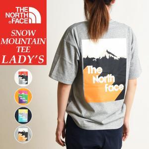 送料無料(ゆうパケット)2020春夏新作 ノースフェイス THE NORTH FACE ショートスリーブスノーマウンテンティー 半袖 Tシャツ レディース アウトドア NT32012 geostyle