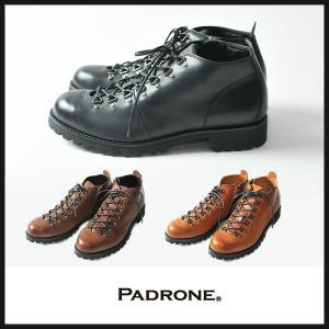 【期間限定】ポイント11倍 PADRONE パドローネ ショート トレッキングブーツ(サイドZIP付き)BENITO IVメンズ PU7358-1224|geostyle
