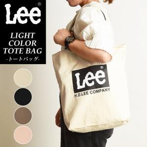 Lee リー キャンバス トートバッグ レディース メンズ QPER60 ショッピングバッグ 大きめ 布|geostyle