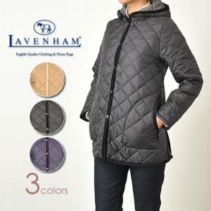 ラベンハム LAVENHAM フード付きキルティングジャケット 「RAMSEY」 ラムジー レディース キルトコート イギリス製|geostyle