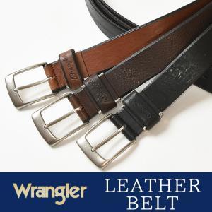 Wrangler/ラングラー ソフト レザー ベルト WR3072  メンズ レディース 本革 カジュアル ビジネス 日本製 サイズ調整 WR-3072|geostyle