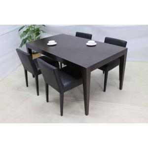 送料別 アウトレット 単品 ダイニングテーブル 幅160 マホガニー ブラウン DTB-IT-M 家具 インテリア|get-annex
