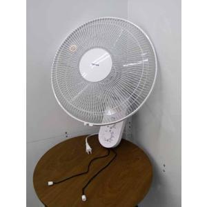 送料無料 扇風機 テクノス ACモーター 壁掛け扇風機 引き紐式 KI-W288 ホワイト|get-annex