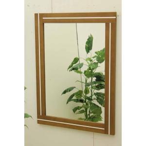 鏡 ミラー ウォールミラー MRR016 ブラウン 茶  アウトレット 家具 インテリア|get-annex