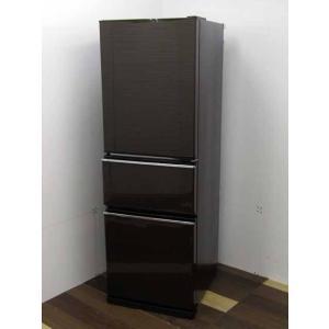 冷蔵庫 三菱 MR-CX27D-BR 272L 3ドア 右開き  グロッシーブラウン|get-annex