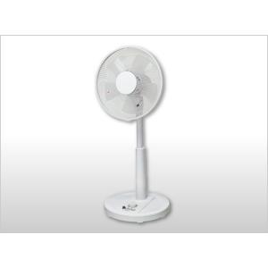扇風機 TEKNOS  30cm リビングメカ扇風機 KI-1751(W)  風量3段階切替 首振り タイマー ホワイト|get-annex