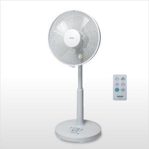 新品 未使用 扇風機 テクノス フルリモコン DCモーター リビング扇風機 KI-323DC 30cm 5枚羽根 ホワイト|get-annex