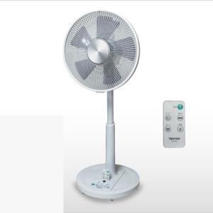 新品 未使用 扇風機 テクノス フルリモコン DCモーター リビング扇風機 KI-342DC 30cm 5枚羽根 ホワイト|get-annex