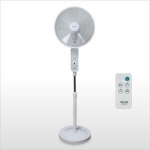 新品 未使用 扇風機 テクノス フルリモコン 立体送風 DCモーター フロアー扇風機 KI-F812R 40cm 5枚羽根 ホワイト|get-annex