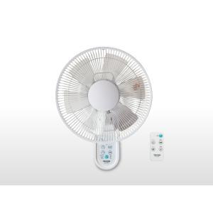 新品 未使用 扇風機 TEKNOS 30cm 壁掛け フルリモコン KI-W280R  フルリモコン 首振り ホワイト|get-annex