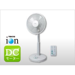 送料無料 扇風機 TEKNOS  テクノイオン搭載 フルリモコン DCリビング扇風機 KII-350DC  DCモーター イオン発生 首振り ホワイト|get-annex