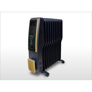 TEKNOS オイルヒーター 1200W 自動温度調整 転倒OFFスイッチ 入切タイマー  木目・つや消しフ?ラック メーカー保証 get-annex