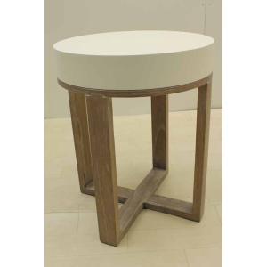 サイドテーブル STB-CA-H55R ミンディーウッド ブラウン 茶  アウトレット 中古 家具 インテリア|get-annex