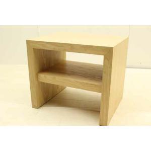 サイドテーブル STB-JP-H45NG マホガニー ブラウン 茶  アウトレット 中古 家具 インテリア|get-annex