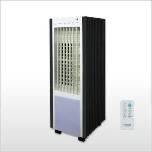 一部地域送料無料 扇風機 テクノス リモコン冷風扇風機 TCW-030  ホワイトxブラック|get-annex
