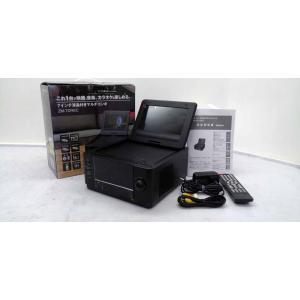 再生品 保証付き レボリューション ZM-7DREC 7インチ液晶付きマルチコンポ 7インチ DVD鑑賞 CPRM対応 録音機能付 カラオケ対応 ブラック get-annex