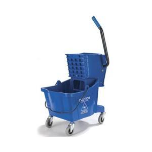 カーライル モップ絞り器 モップリンガー ブルー 3690814|get-square
