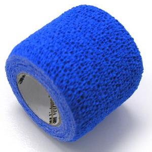 ヴェトラップ 動物用自着性弾力包帯 5cm×2m ブルー (ペットの包帯)|get-square