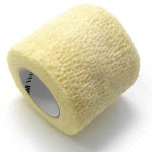 ヴェトラップ 動物用自着性弾力包帯 5cm×2m ホワイト (ペットの包帯)|get-square