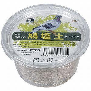 アラタ 小鳥用フード ワンバード 鳩塩土 1個 |get-square
