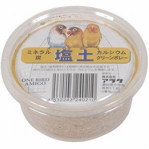 アラタ 小鳥用フード ワンバードアミーゴ 塩土 1個 |get-square