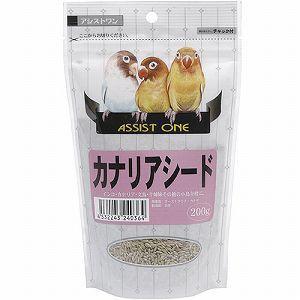 アラタ 小鳥用フード アシストONE カナリアシード 200g |get-square