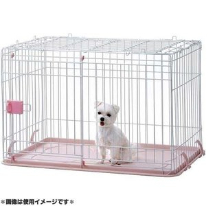 IINA 犬用ゲージ ドッグルーム ピンク INM-001 |get-square