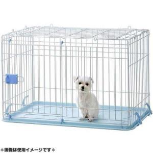 IINA 犬用ゲージ ドッグルーム ブルー INM-002|get-square