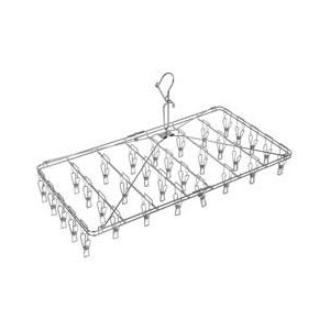 オーエ ステリアプラス 角ハンガー ピンチ32個付 洗濯 ピンチハンガー|get-square
