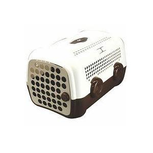 ユナイテッドペッツ UNITED PETS キャリーケース(キャリーバッグ) オート ホワイト/ブラウン|get-square