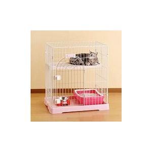 ボンビ サークル コンフォート ミニHi ホワイト (猫 ケージ・ゲージ)|get-square
