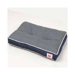 ボンビ 犬 猫 ベッド オールシーズン スクエアクッション ブルー|get-square